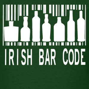 Irish Bar Code - Men's T-Shirt