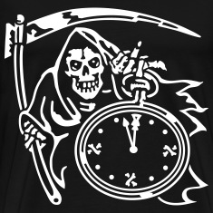 Reaper Time (for black shirts) T-Shirts