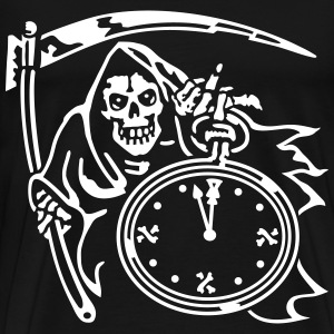 Reaper Time (for black shirts) T-Shirts - Men's Premium T-Shirt