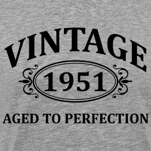 Vintage 1951 Aged to Perfection T-Shirts - Men's Premium T-Shirt