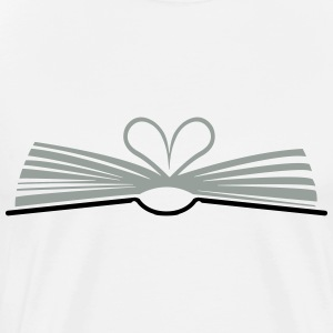 open book Shirt - Men's Premium T-Shirt