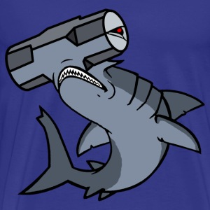 Sledge Hammerhead Shark - Men's Premium T-Shirt