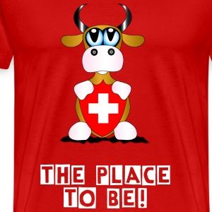 place to be - Men's Premium T-Shirt