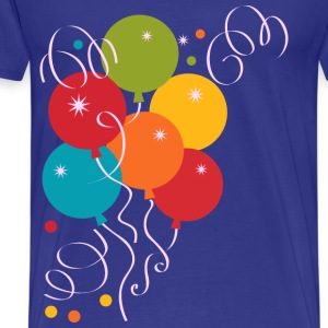 birthday balloons - Men's Premium T-Shirt