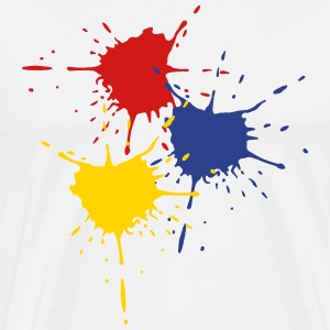 3 basic colors - Splash - V3 T-Shirts - Men's Premium T-Shirt