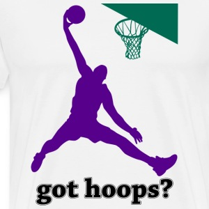 Got Hoops? Basketball T-Shirt - Men's Premium T-Shirt
