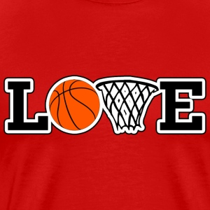 Love Basketball T-Shirt - Men's Premium T-Shirt