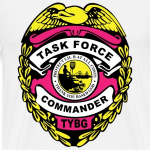 TASK FORCE COMMANDER BADGE T-Shirts - Men's Premium T-Shirt