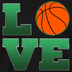 Love Boston Celtics Basketball T-Shirt - Men's Premium T-Shirt