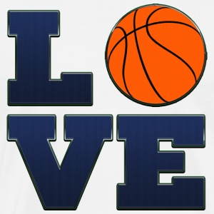 Love Utah Jazz Basketball T-Shirt - Men's Premium T-Shirt