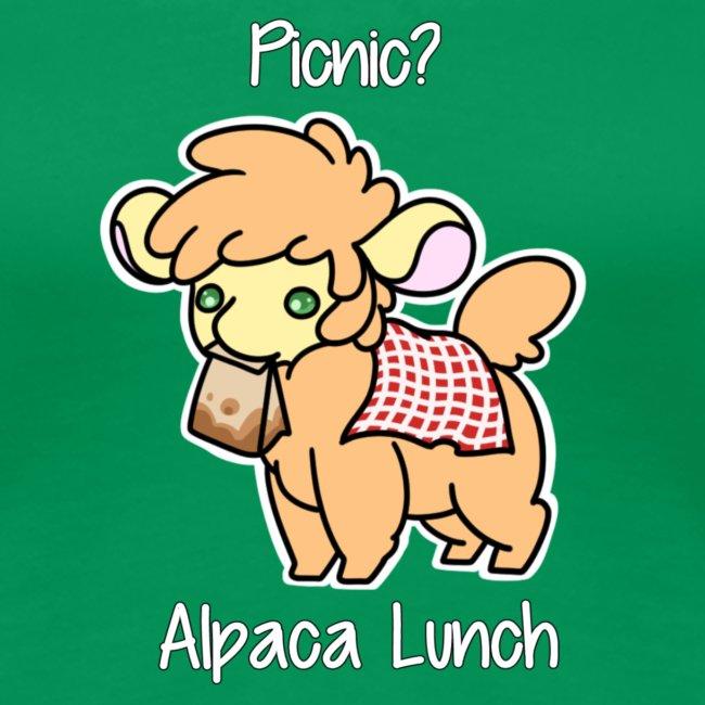 Alpaca Lunch Ladies Fitted Tee