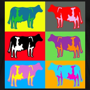 cow colored cows multicolor T-Shirts - Men's Premium T-Shirt