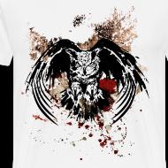 Design ~ Grunge Horned Owl