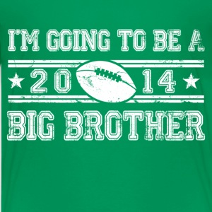 im_going_to_be_a_big_brother Kids' Shirts - Kids' Premium T-Shirt