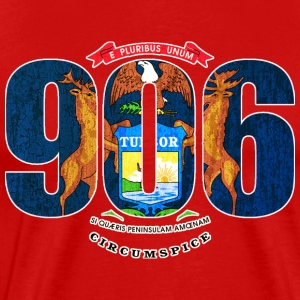 906 Mi Flag T-Shirts - Men's Premium T-Shirt