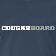 Design ~ CougarBoard T-shirt (navy)