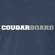 Design ~ CougarBoard T-shirt (navy)
