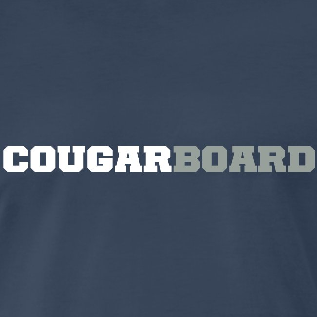 CougarBoard T-shirt (navy)