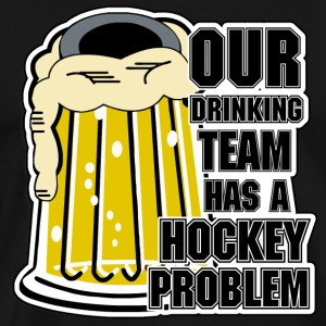 Hockey Drinking Team T-Shirt - Men's Premium T-Shirt