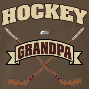 Hockey Grandpa T-Shirt - Men's Premium T-Shirt
