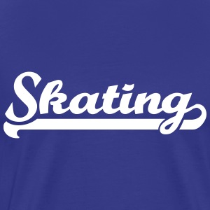 Skating T-Shirts - Men's Premium T-Shirt