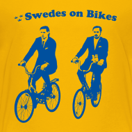 Design ~ Swedes On Bikes Kids T-Shirt