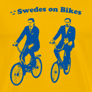 Design ~ Swedes On Bikes Men's T-Shirt