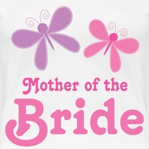 Mother of the Bride (Bridal Party) Women's T-Shirts - Women's Premium T-Shirt