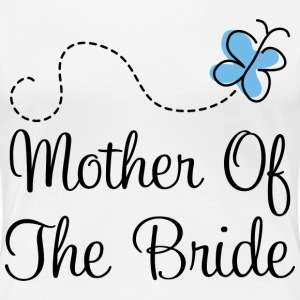 Mother of the Bride (Blue Wedding) Women's T-Shirts - Women's Premium T-Shirt