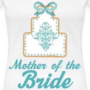 Mother of the Bride (Wedding Cake) Women's T-Shirts - Women's Premium T-Shirt