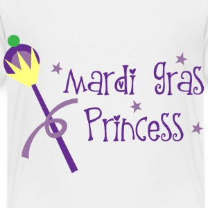 Mardi Gras Princess Baby & Toddler Shirts - Toddler Premium T-Shirt