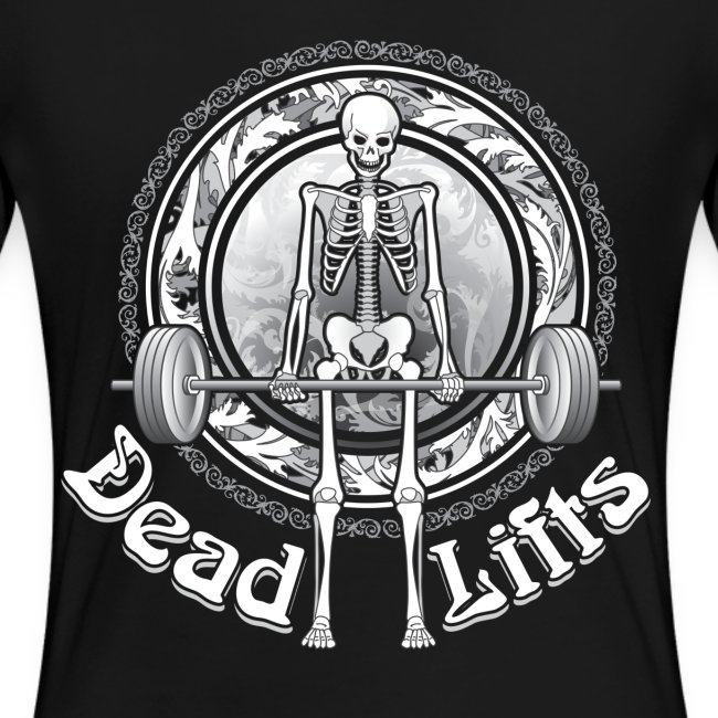 Dead Lifts Women's Plus-Size BACK
