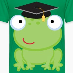 Graduation Frog Kids' Shirts