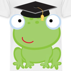 Graduation Frog Baby & Toddler Shirts - Toddler Premium T-Shirt