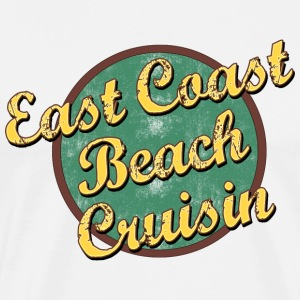 Vintage East Coast Beach Cruising T-Shirt - Men's Premium T-Shirt