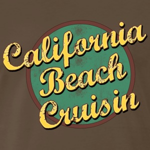 Bicycle California Beach Cruising T-Shirt - Men's Premium T-Shirt