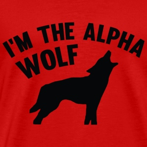 I'm The Alpha Wolf - Men's Premium T-Shirt