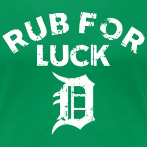 RUB FOR LUCK Women's T-Shirts - Women's Premium T-Shirt