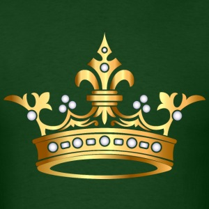 gold king crown3 - Men's T-Shirt