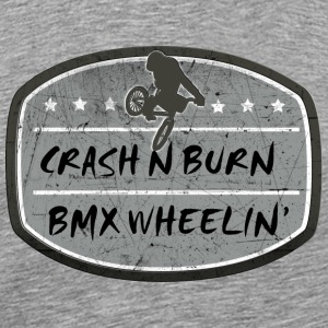 Bicycle BMX Wheeling T-Shirt - Men's Premium T-Shirt