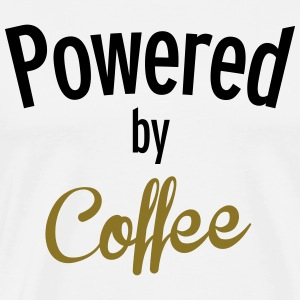 Powered By Coffee T-Shirts - Men's Premium T-Shirt