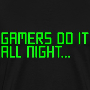 Gamers Do It  T-Shirts - Men's Premium T-Shirt