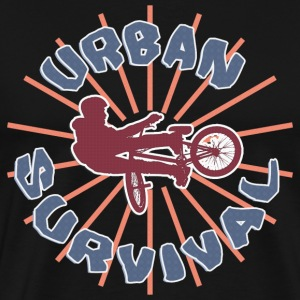 BMX Urban Survival T-Shirt - Men's Premium T-Shirt
