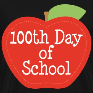 100th Day Of School (Apple) T-Shirts - Men's Premium T-Shirt