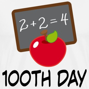 100th Day School Design T-Shirts - Men's Premium T-Shirt
