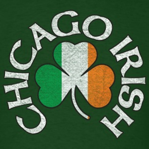 Chicago Irish Shamrock Apparel T-Shirts - Men's T-Shirt