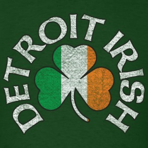 Detroit Irish Shamrock Apparel T-Shirts - Men's T-Shirt