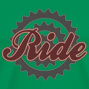 Bicycle Cycling Ride T-Shirt - Men's Premium T-Shirt
