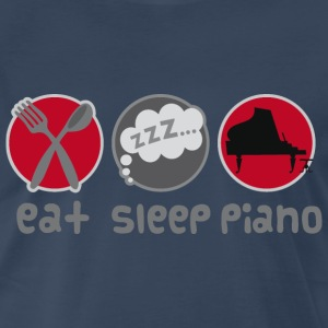 Eat Sleep Piano Music T-Shirts - Men's Premium T-Shirt