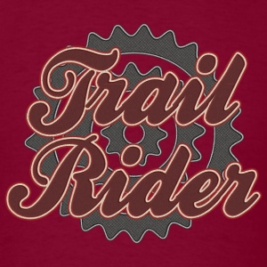 Bicycle Cycling Trail Rider T-Shirt - Men's T-Shirt